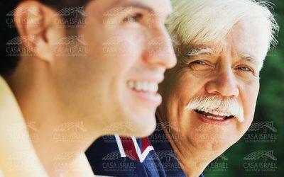 Celebrar con mi viejito el Día del Padre