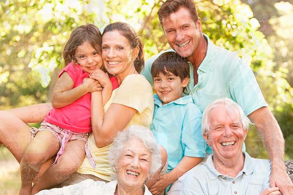 La familia es el pilar del adulto mayor